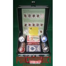 Набор для игры в покер ROYAL FLUSH 100 (100 фишек)