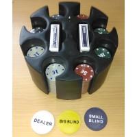 Набор для игры в покер ROUND 200 (уценка)