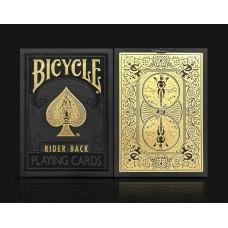 Игральные карты BICYCLE PREMIUM BLACK & GOLD