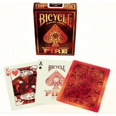 Игральные карты BICYCLE FIRE