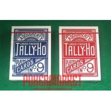 Игральные карты TALLY-HO №9 (FAN)